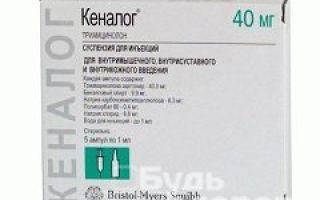 Кеналог таблетки — инструкция по применению, цена, отзывы и аналоги