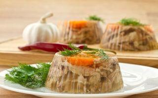 Холодец при панкреатите: по какому рецепту можно?