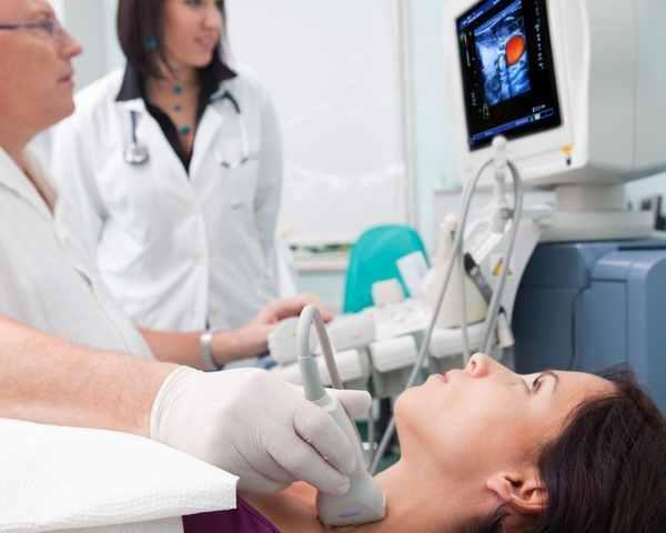 Кровоток узла щитовидной железы (перинодулярный, интранодулярный): норма, диагностика, лечение