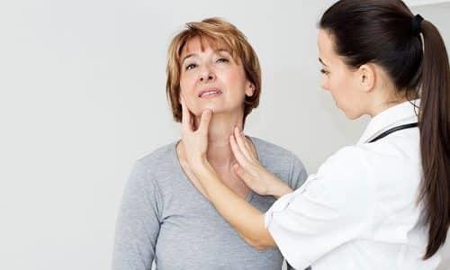 Узлы щитовидной железы: симптомы и лечение