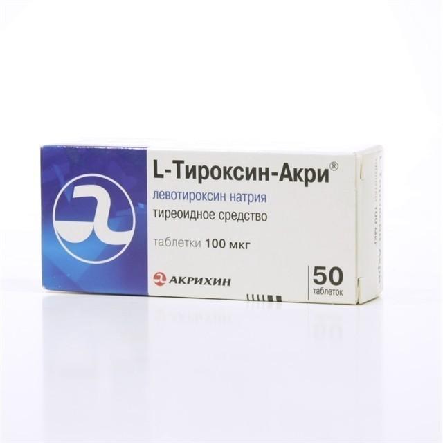 l-ТИРОКСИН ТАБЛЕТКИ - Инструкция по применению, цена, отзывы и аналоги