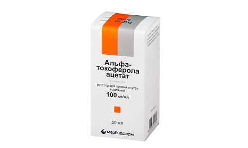 ТОКОФЕРОЛА АЦЕТАТ - инструкция по применению, цена, отзывы и аналоги
