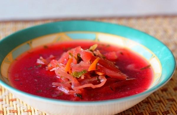Какой суп или борщ можно при хроническом панкреатите