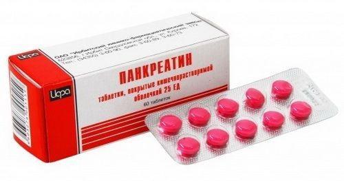 Панкреатин: инструкция по применению препарата