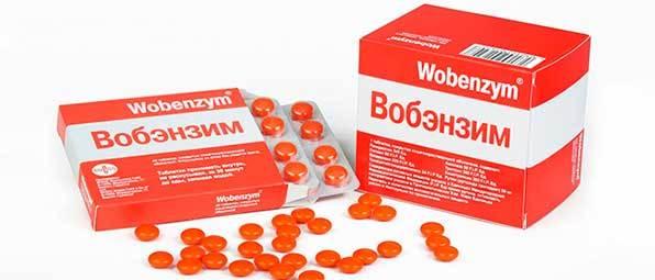 Вобэнзим при панкреатите поджелудочной железы