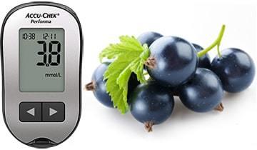 Смородина при диабете: можно ли красную, черную, лист при 1 и 2 типе