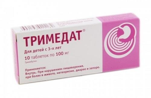Тримедат при панкреатите: особенности применения